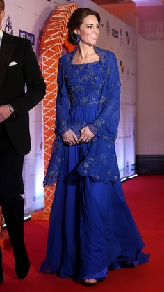 Kate Middleton Wears Floor-Length Beaded Gown at Black-Tie Gala.  Kate  Middleton Wears Floor-Length Beaded Gown at… 9cdea72ce93