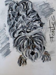 Arte Moderna & Contemporânea: Uma cadela XIII