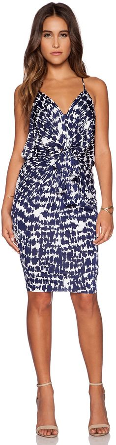 T-Bags LosAngeles Knot Front Mini Dress women fashion outfit clothing style apparel @roressclothes closet ideas