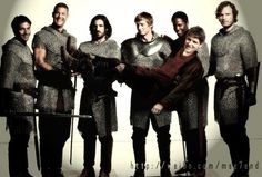 Best Merlin BBC pic in the history of ever I love it! I really accurately describes the relationship between the knights and merlin. Merlin Memes, Merlin Funny, Saga, It's Over Now, Merlin Fandom, Merlin Colin Morgan, Merlin And Arthur, King Arthur, Merlin Cast