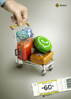 Internet Roaming by Peter Storozhenko, via Behance