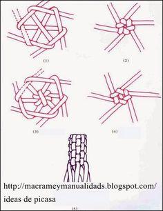 Одноклассники Macrame Art, Macrame Projects, Macrame Jewelry, Micro Macramé, Rope Crafts, Macrame Patterns, Bracelet Patterns, Basket Weaving, Creations