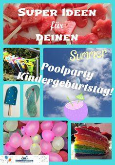 Der Poolparty Kindergeburtstag ist einer der lustigsten (und feuchtesten) Kindergeburtstage, die es überhaupt gibt!