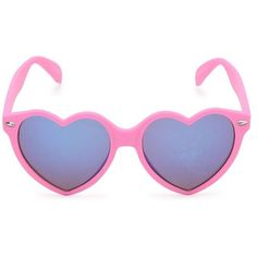 With Love From CA Rubberized Hearts Sunglasses ($8.39) ❤ liked on Polyvore featuring accessories, eyewear, sunglasses, glasses, fillers, pink heart shaped glasses, heart shaped sunglasses, lens glasses, pink heart sunglasses and pink glasses