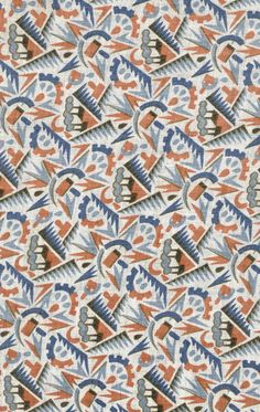 Russian Propaganda fabric textile patterns and designs of the 1920s-1930s.