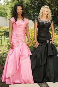 Modest prom dresses-and they're beautiful! Where can I get this!
