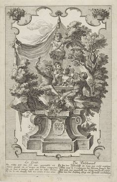 De smaak, Gottfried Bernhard Götz, 1718 - 1748