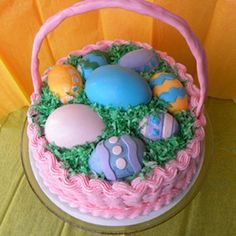 I so want to make this for Easter!  It's so cute!