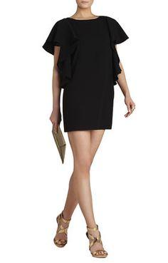 BLACK Black Evening - Solace Ruffle-Sleeve Dress