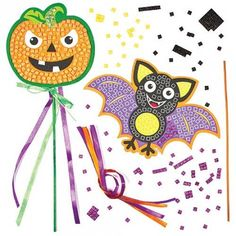 Activit manuelle halloween on pinterest chauve souris - Activite manuelle decoration ...