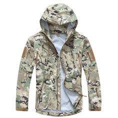 Sports & Entertainment Waterproof Outdoor Camo Waterproof Children Tad Tactical Shark Skin Softshell Hunting Jacket Kids Army Coats Hunting Jackets Strong Resistance To Heat And Hard Wearing