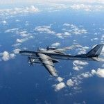 Two Russian nuclear-capable bombers intruded into the U.S. air defense zone near Alaska last week in the latest saber rattling by Moscow, defense officials said.    The Tu-95 Bear H bombers flew into