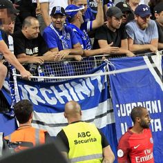 Bastia supporter given stadium ban and fine for hitting Lucas with flagpole