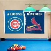 #MLBShop.com - #MLBShop.com Chicago Cubs/St. Louis Cardinals WinCraft Deluxe 3' x 5' House Divided Flag - AdoreWe.com