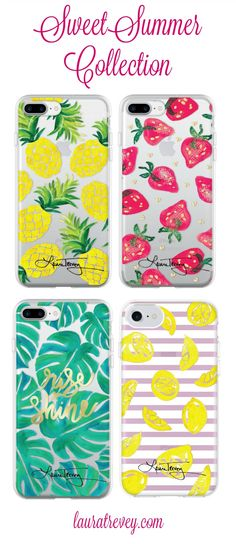 9bb2b88016e8 Sweet iPhone7 Cases for Spring and Summer Watercolor Design