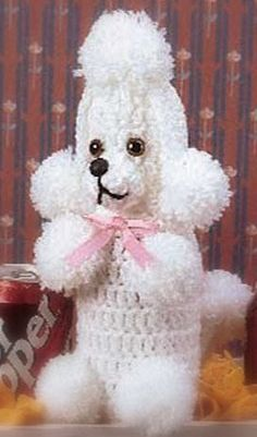 crocheted poodles. I forgot about these!