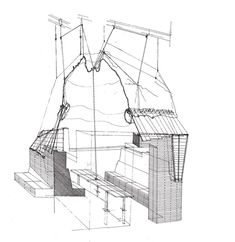 Architect Design Drawing the box :: eric owen moss | eric owen moss | pinterest