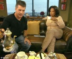 Simon and Oprah   I think they would be smiling if they were drinking Organo Gold Coffee!    www.gloversgrind.organogold.com