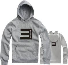 On sale Lovers with a hood sweatshirt hoodie eminem e fleece sweatshirt hiphop  men's blouses outerwear $14.53