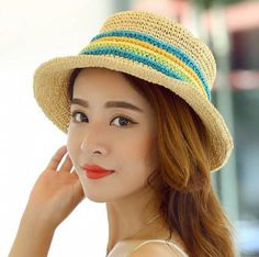 a70ca7040ad 32 Best Straw wide sun hats for ladies in summer wear images ...