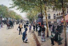 Jean Béraud   Impressionist painter of Belle Époque   Tutt'Art@