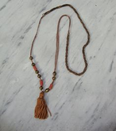 love me some tassel necklaces