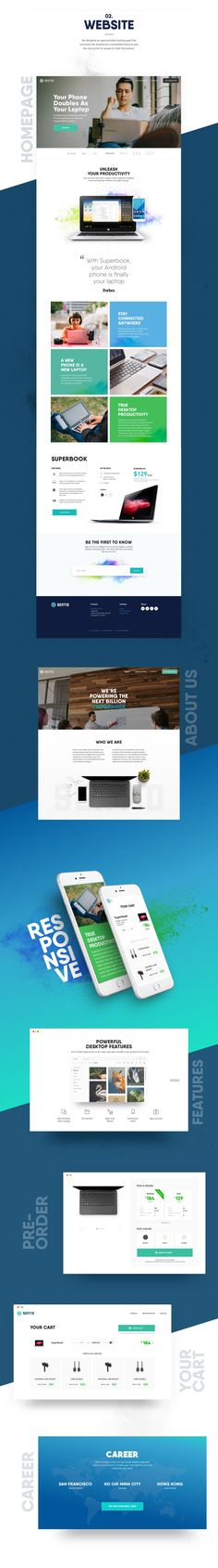 A full design package for Sentio and their awesome product Superbook, check out their website https://sentio.com/