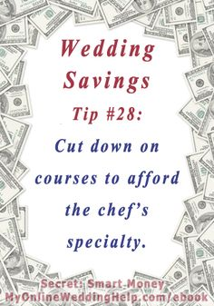 Savings To Your Bride 37