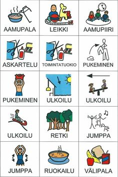 Classroom Behavior, School Classroom, Learn Finnish, Finnish Words, Finnish Language, Teaching Aids, Beginning Of The School Year, Early Childhood Education, School Holidays