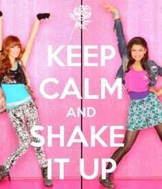 Keep calm and shake it up lol