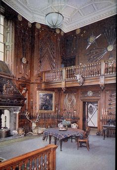 Blair Castle, Entrance Hall by helen_orlova, via Flickr