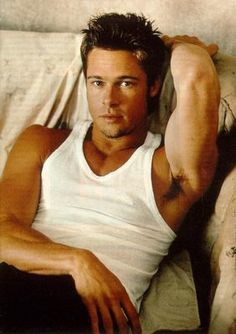 Brad Pitt- He's your average father...apparently lol.