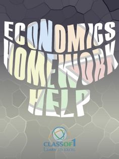 Economics homework help?