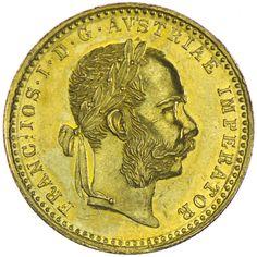 Franz Joseph I. 1848 - 1916 Dukat 1881 Gold, Kaiserreich