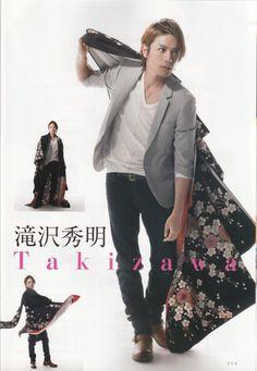 Takizawa Hideaki - Coz I just love looking at him. Lol