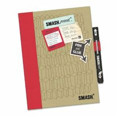 K&CompanySmash Folio, Doodle Red