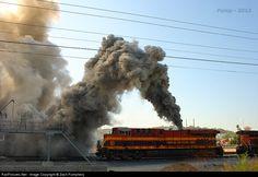 RailPictures.Net Photo: KCS 4688 Kansas City Southern Railway GE ES44AC at Kansas City, Missouri