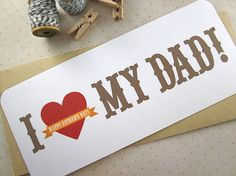 :)  fathers day card