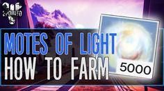 Destiny 5000 motes of light how to get motes of light