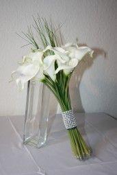 Brautstrauss Calla exclusiv mit Strass , Bridebouquets with calla lilies