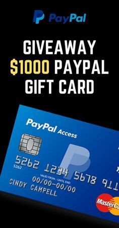 How To Get Free Paypal Gift Card In 2020 Paypal Gift Card