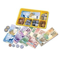 Canadian Currency X-Change™ Activity Set