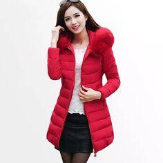Women Winter Thick Warm Cotton Jacket