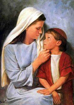 'Jesus As A Little Child' by Del Parson