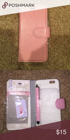 I Phone 6 Case, Stylist and Screen Protector Case, Stylist and Screen Protecter. BRAND NEW!!!! Accessories Phone Cases