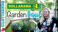 Let's get organized!I love Dollarama and this year their outdoor decor section is awesome! Check out some Dollar Store Garden and Outdoor Decor Ideas from my fav Canadian Dollar Store, Dollarama!
