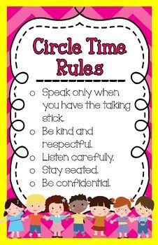 Restorative Practices- Circle Time Rules