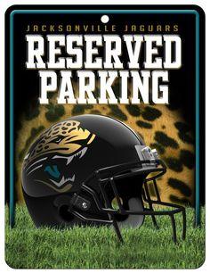 2abe1e6c7 ~Jacksonville Jaguars Sign Metal Parking~ backorder