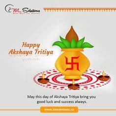 May this day of #AkshayaTritiya bring you #goodluck, #wealth, #success always  #HappyAkshayaTritiya #IMSolutions #Advertisingagency #Digitalmarketingagency #Webdesigncompany https://bit.ly/2g2PiX8