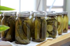 Make Your Own Canned Pickles | 20 Cool DIY Homesteading Projects For a Simpler Life